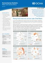 Humanitarian Bulletin West and Central Africa - April 2016