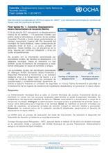 Colombia – Desplazamiento masivo Municipio de Santa Bárbara de Iscuandé - Nariño Flash Update No. 1 (21/04/2017)