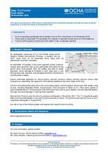 Iraq: Earthquake, Flash Update | Issued on 26 November 2018
