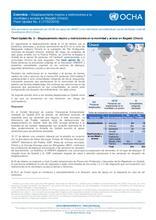 Flash Update No. 2 – Desplazamiento masivo y restricciones en la movilidad y acceso en Bagadó (Chocó)