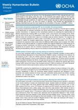 Ethiopia Weekly Humanitarian Bulletin, 14 August 2017