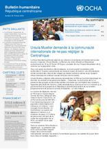 RCA: OCHA Bulletin humanitaire #32 (févr 2018)