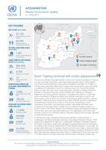 Afghanistan Weekly Humanitarian Update  | 3 – 9 May 2021
