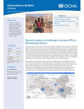 Ethiopia Bi-Weekly Humanitarian Bulletin, 29 October - 11 November 2018