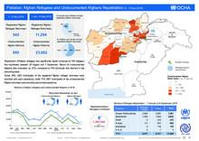 Pakistan: Afghan Refugees and Undocumented Afghan Repatriation 2 - 8 Sep 2018