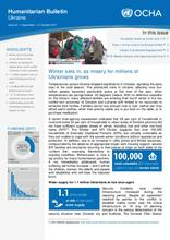 Ukraine: Humanitarian Bulletin | Issue 22| 1 September – 31 October 2017[EN/UA/RU]
