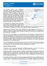 Ethiopia: Flash Update, 14 Sept 2017