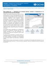 Flash Update No. 1 – Emergencia por tormenta eléctrica, vendaval e inundaciones en el municipio de Puerto Carreño (Vichada)