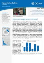 Ukraine: Humanitarian Bulletin | Issue 19 | 1 – 30 June 2017