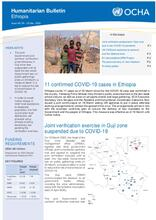 Ethiopia Bi-Weekly Humanitarian Bulletin, 09 - 22 Mar 2020