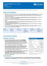 Lake Chad Basin: Crisis Update No. 11 - 10 January 2017
