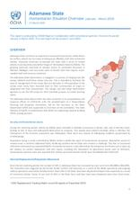 Nigeria North-East: Adamawa State Humanitarian Situation Overview (January - March 2020)