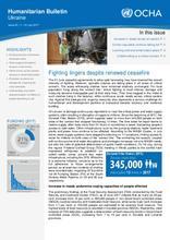 Ukraine: Humanitarian Bulletin | Issue 20| 1 – 31 July 2017
