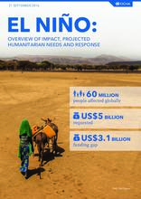 El Niño: Overview of Impact, Projected Humanitarian Needs and Response, 21 September 2016