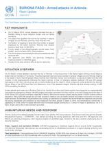 BURKINA FASO : Attaques armées à Arbinda Flash Update 5 avril 2019