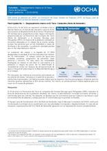 Flash Update No. 1 – Colombia: Desplazamiento masivo en El Tarra (Norte de Santander)