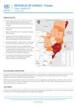 REPUBLIC OF CONGO : Floods Flash Update N°3 [EN/FR]