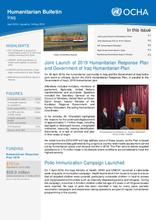 Humanitarian Bulletin - April 2019