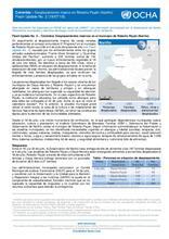 Colombia: Flash Update No. 2 – Desplazamientos masivos en Roberto Payán (Nariño)