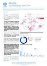 ETHIOPIA Humanitarian Access Situation Report August - September 2019