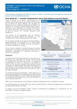 Colombia – Desplazamiento masivo Santa Barbará de Iscuande (Nariño) Flash Update No. 1 (27/02/17)