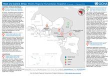 Afrique de l'Ouest et du Centre: Aperçu humanitaire hebdomadaire (29 Janvier au 4 Février 2019) EN