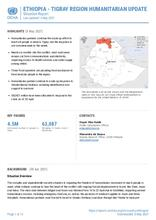 Ethiopia: Tigray Region Humanitarian Update Situation Report, 03 MAY 2021 [EN]