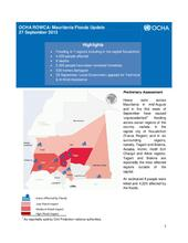 Mauritania Floods Updates (27 Sept. 2013)