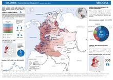 Colombia: Humanitarian Snapshot (January - June  2016)