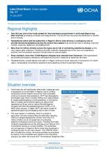 Lake Chad Basin: Crisis Update No. 17 - 11 July 2017
