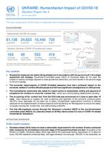 UKRAINE: Humanitarian Impact of COVID-19 Situation Report No.4  - 3 June 2020
