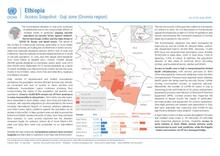 Ethiopia: Access Snapshot - Guji zone (Oromia region) as of 30 June 2020