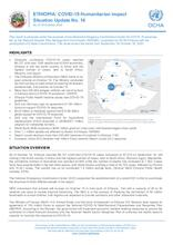 Ethiopia: COVID-19 Humanitarian impact Situation Update No.14 as of 18 October 2020 - [EN]