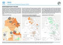 Iraq: Humanitarian Snapshot, August 2020 [EN]