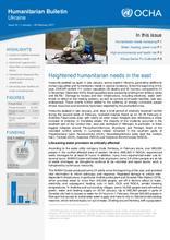 Humanitarian Bulletin: Ukraine | Issue 16 | 1 January – 28 February 2017 [EN/UK/RU]