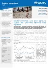 OCHA Haiti Humanitarian Bulletin #62 _ June 2016 (FR/EN)