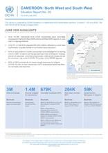 Cameroon: North-West and South-West Crisis, Situation Report N°20 as of 30 June 2020