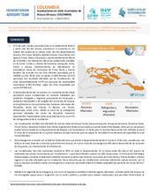 Flash Update No. 1 - Inundaciones en siete municipios de  Arauca