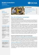 Cameroun: Bulletin humanitaire No 05 - Novembre 2017