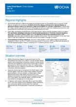 Lake Chad Basin: Crisis Update No. 14 - 09 May 2017