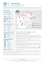 Afghanistan Weekly Humanitarian Update    23 March to 29 March 2020