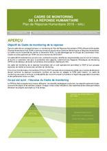 Cadre de Monitoring de la Réponse Humanitaire Mali 2018