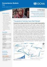 Iraq Humanitarian Bulletin May 2016 | Issued on 19 June
