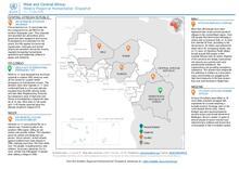 Afrique de l'Ouest et du Centre: Aperçu humanitaire hebdomadaire 11 - 17 juin 2019 [FR/EN]