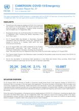 CAMEROON: COVID-19 Emergency Situation Report No. 07, as of 15 September 2020