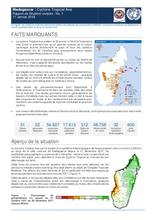 Madagascar: Cyclone Tropical Ava Rapport de Situation conjoint : No. 1, 17 Janvier 2018