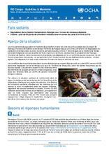 RD Congo - Sud-Kivu et Maniema : Note d'informations humanitaires du 16 octobre 2018