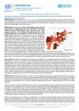 Afghanistan Flash Update | COVID-19 | Strategic Situation Report No. 85 | 26 November 2020