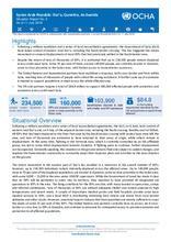 Syrian Arab Republic: Dar'a, Quneitra, As-Sweida Situation Report No. 2 As of 11 July 2018