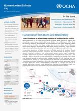Iraq: Humanitarian Bulletin April 2016 | Issued on 10 May